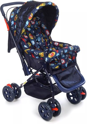 Plus One NIT & Kit Pram(3, Multicolor)