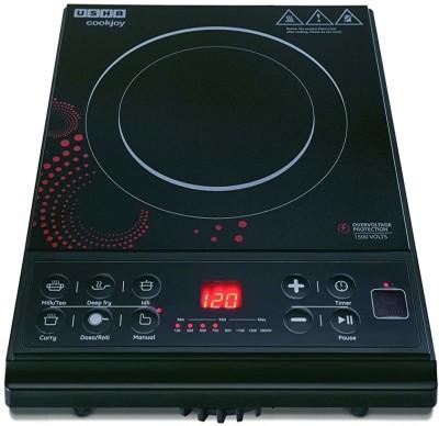 Usha COOK JOY -3616 Induction Cooktop(Black, Push Button)