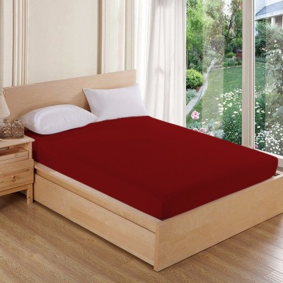AVI Fitted Twin Size Waterproof Mattress Protector(Red)