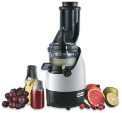 Usha Full Mouth Cold Press CPJ 382F 200 W Juicer(White, Black, 2 Jars)