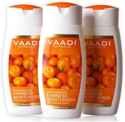 Vaadi Herbals White Radiance Fairness Moisturiser with Mandarin Extract(110 ml)
