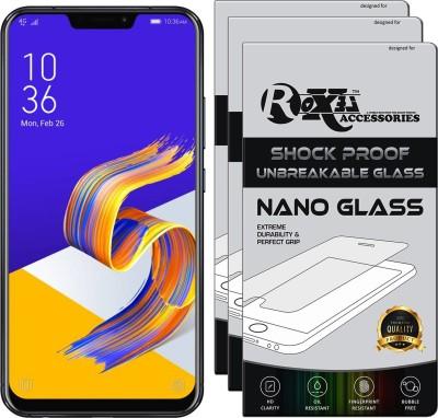 Roxel Nano Glass for Asus Zenfone 5Z(Pack of 3)