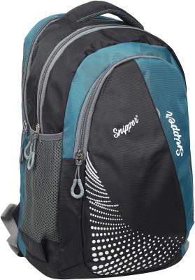 Snipper Premium Quality Nexa School Bag Green, 30 L Snipper Bags, Wallets   Belts