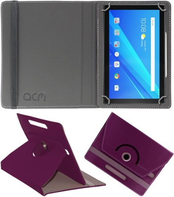 ACM Flip Cover for Lenovo Tab M10 10 inch(Purple, Cases with Holder)