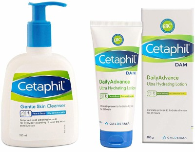 Cetaphil CLEANSER + LOTION(Set of 2)