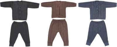 DX Top - Pyjama Set For Boys & Girls(Blue, Pack of 3)