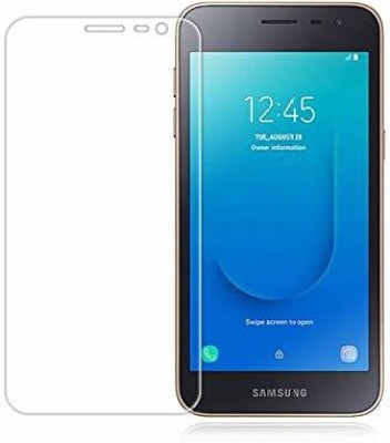 Milind Accessories Tempered Glass Guard for Samsung Galaxy A2 Core(Pack of 2)