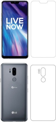 Screen O scratch Front and Back Screen Guard for Lg G7 + Thinq Front back Screen Guard / Lg G7 + Thinq(Pack of 2)