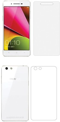 Screen O scratch Front and Back Screen Guard for Oppo R1S Front back Screen Guard / Oppo R1S(Pack of 2)
