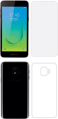 Screen O scratch Front and Back Screen Guard for Samsung Galaxy A2 Core Front back Screen Guard / Samsung Galaxy A2 Core(Pack of 2)