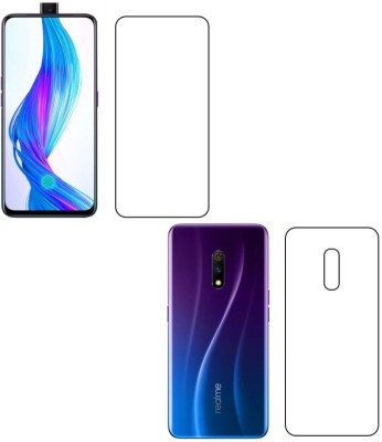 Sajni Creations Front and Back Screen Guard for Realme X(Pack of 1)