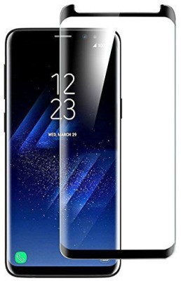 Covers Eclat Mobitech LLP Tempered Glass Guard for Samsung Galaxy S8 Side Glue Clear Transparent Edge to Edge 3D Curved Tempered Glass Screen Protector(Pack of 1)
