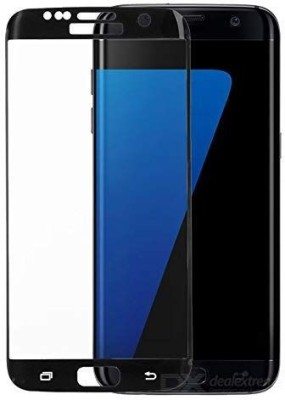 Covers Eclat Mobitech LLP Tempered Glass Guard for Samsung Galaxy S7 Edge Side Glue Clear Transparent Edge to Edge 3D Curved Tempered Glass Screen Protector(Pack of 1)