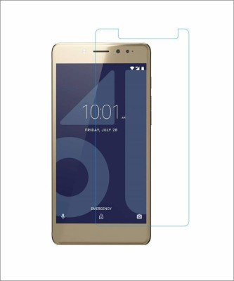 CHAMBU Tempered Glass Guard for Micromax Canvas Unite 4 Plus(Pack of 1)