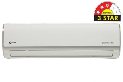 Voltas 1 Ton 3 Star Split Inverter AC  - White(123 VDZU (R-410A) / 123V DZU2 (R-410A), Copper Condenser)