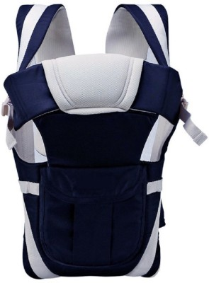 Welo High Quality Baby Carrier with Strong Belt 4 in 1 Position Baby Carrier(Navy, Front Carry facing in)