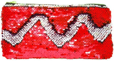 Confidence Cosmetic Pouch Red Confidence Travel Pouches