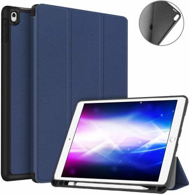 AGEIS Flip Cover for Apple iPad Air 3 2019 10.5 inch (Artificial Leather)(Blue, Shock Proof)