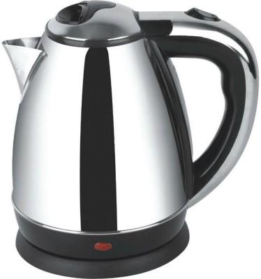 Wonder World ™ Durable 1.7 Liter Water Heater Tea pot Coffee Electric Kettle(1.7 L, Silver)