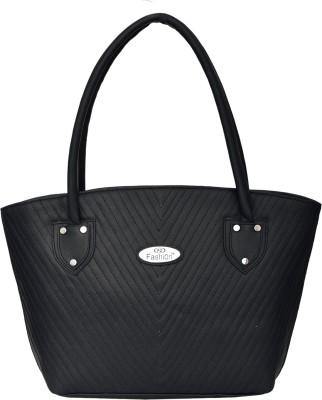 FD FASHION Women Black Shoulder Bag