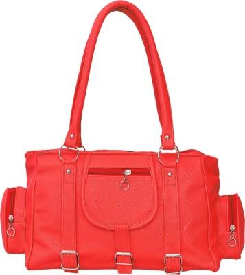 FD Fashion Soft Women Red Shoulder Bag