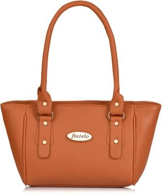 FOSTELO Women Tan Shoulder Bag FOSTELO Handbags