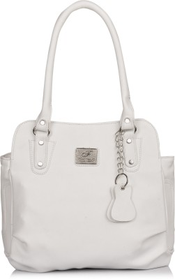 FOSTELO Women White Shoulder Bag FOSTELO Handbags