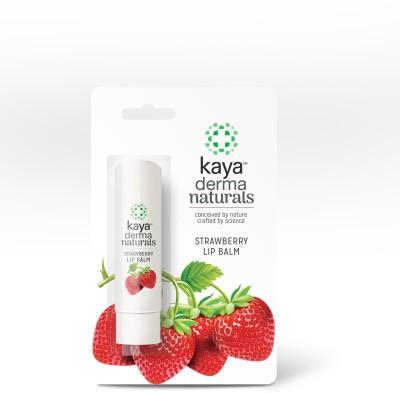 KAYA Derma Naturals Lip Balm Strawberry(Pack of: 1, 4.5 g)