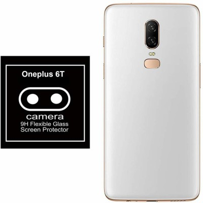 Novo Style Camera Lens Protector for Oneplus 6T Back Camera Lens Protector Flexible Tempered Glass(Pack of 1)