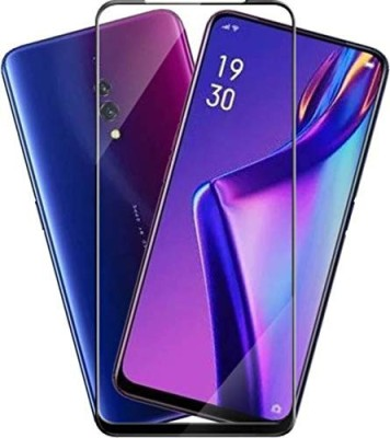 Karpine Edge To Edge Tempered Glass for OPPO F11 Pro, OPPO K3, Realme X(Pack of 2)