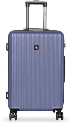 Swiss Brand Riga Check in Luggage   24 inch