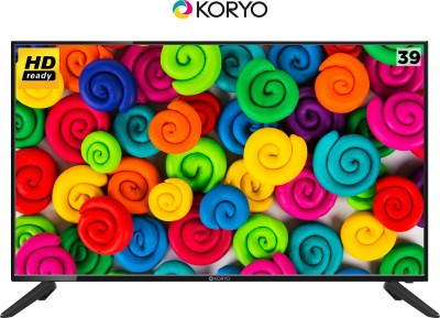 Koryo 98cm (40 inch) HD Ready LED TV(KLE40ALVH5) at flipkart