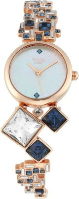 Titan 95106WM02F Raga Cocktail Analog Watch - For Women