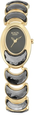 Titan 95107YM01F Raga Cocktail Analog Watch - For Women