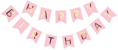 PARTY NASHA HAPPY BIRTH DAY PARTY Banner(12 ft, Pack of 1)