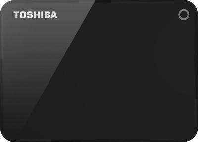Toshiba Canvio Advance 4 TB External Hard Disk Drive(Black)