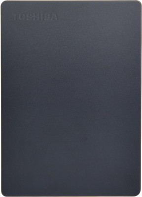 TOSHIBA Canvio Slim III 2 TB External Hard Disk Drive(Black)