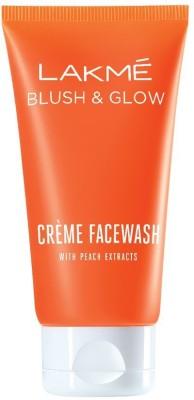 Lakme Peach Creme Face Wash, 100g Face Wash(100 g)