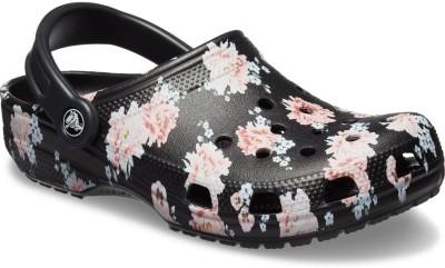 Crocs Women Black Sandals at flipkart