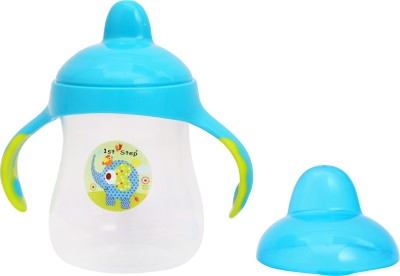 1st Step Hard Spout Cup 8oz/250ml(Blue) at flipkart