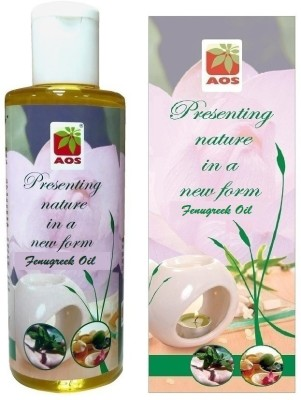 AOS Products 100% Pure FENUGREEK OIL(200 ml) at flipkart
