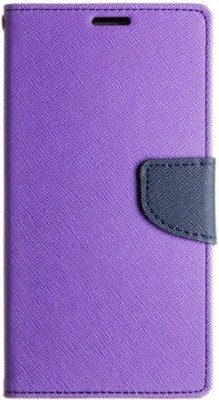 FLIPPO Flip Cover for VIVO Y51L(Purple,Blue, Cases with Holder)