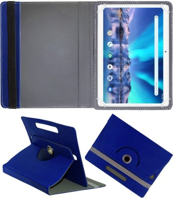 Fastway Flip Cover for Lava Magnum-XL 10.1 inch 4G Tablet(Blue, Cases with Holder)