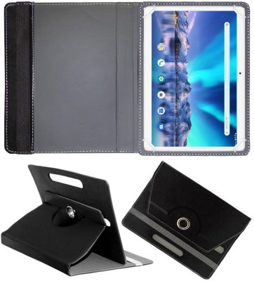 Fastway Flip Cover for Lava Magnum-XL 10.1 inch 4G Tablet(Black, Cases with Holder)