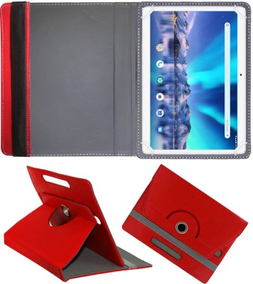 Fastway Flip Cover for Lava Magnum-XL 10.1 inch 4G Tablet(Red, Cases with Holder)