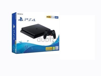 Sony PlayStation 4 (PS4) Slim 500 GB(Jet Black)