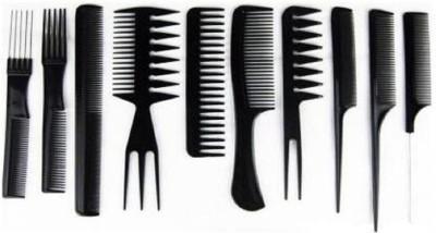 Woms 10Pcs Pro Salon Hair Cut Styling