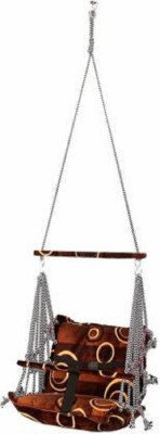 Inditradition CFM Stand Cotton Hammock(Multicolor)