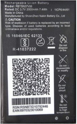 Systums Mobile Battery For JIO LF-2403N