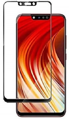 Karpine Edge To Edge Tempered Glass for Infinix Hot 7, Infinix Hot 7 Pro(Pack of 1)